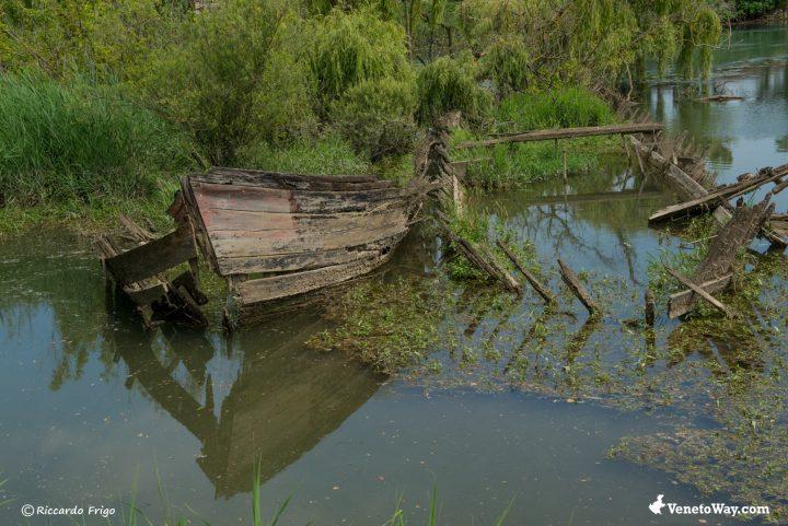 Cimitero dei Burci - La ciclabile del fiume Sile