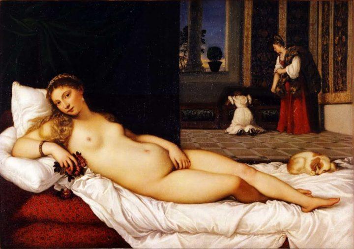 Venere di Urbino - Tiziano Vecellio