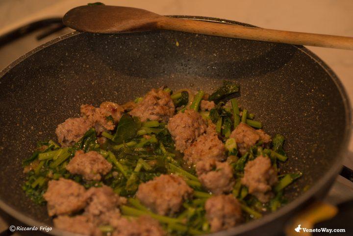 La Pasta Broccolo Fiolaro e Salsiccia